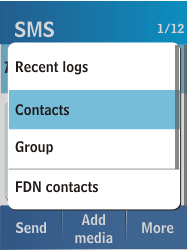Samsung C3300K - MMS - Sending pictures - Step 5