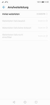 Huawei P20 Pro - Anrufe - Rufumleitungen setzen und löschen - 8 / 9