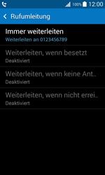 Samsung Galaxy Trend 2 Lite - Anrufe - Rufumleitungen setzen und löschen - 10 / 11