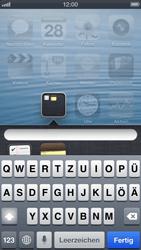 Apple iPhone 5 - Startanleitung - Personalisieren der Startseite - Schritt 6