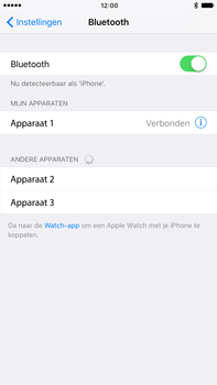 Apple iPhone 6 Plus iOS 10 - Bluetooth - Koppelen met ander apparaat - Stap 6