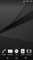Sony Xperia Z5 - Operazioni iniziali - Installazione di widget e applicazioni nella schermata iniziale - Fase 3