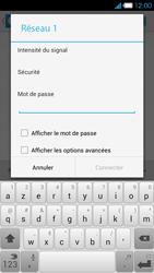 Bouygues Telecom Ultym 4 - Internet et connexion - Accéder au réseau Wi-Fi - Étape 7