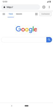 Google Pixel 3a - Internet et connexion - Naviguer sur internet - Étape 12