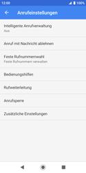 Sony Xperia XZ2 Compact - Android Pie - Anrufe - Rufumleitungen setzen und löschen - Schritt 8