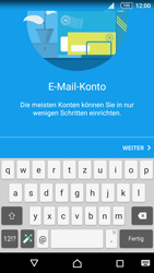 Sony Xperia Z5 Compact - E-Mail - Manuelle Konfiguration - Schritt 7