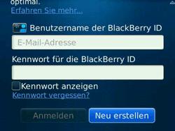 BlackBerry Bold - Apps - Konto anlegen und einrichten - 8 / 19