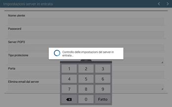 Samsung T535 Galaxy Tab 4 10.1 - E-mail - configurazione manuale - Fase 11