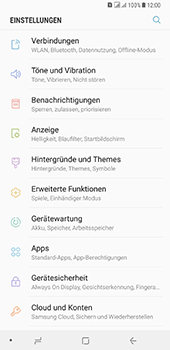 Samsung Galaxy A8 Plus (2018) - Netzwerk - Netzwerkeinstellungen ändern - Schritt 4
