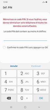 Samsung Galaxy A50 - Sécurité - activéz le code PIN de l'appareil - Étape 7