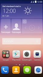 Huawei Y625 - Wifi - handmatig instellen - Stap 1