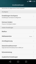 Huawei P8 Lite - Anrufe - Rufumleitungen setzen und löschen - 5 / 9