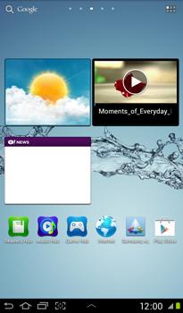 Samsung P3100 Galaxy Tab 2 7-0 - MMS - afbeeldingen verzenden - Stap 1