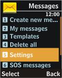 Samsung J700 - SMS - Manual configuration - Step 4
