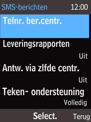 Nokia 225 (Type RM-1012) - SMS - Handmatig instellen - Stap 7