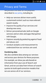 Samsung Galaxy J7 (2017) - Applications - Create an account - Step 15