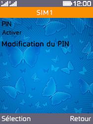 Archos F28 - Sécuriser votre mobile - Personnaliser le code PIN de votre carte SIM - Étape 6