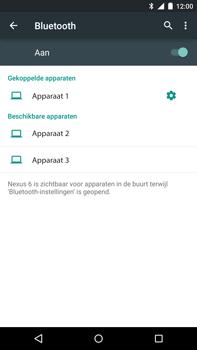 Motorola Nexus 6 - Bluetooth - Koppelen met ander apparaat - Stap 8