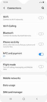 Samsung Galaxy A20e - Internet - Manual configuration - Step 5