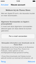Apple iPhone 5 iOS 7 - apps - account instellen - stap 10