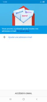 Samsung Galaxy A50 - E-mails - Ajouter ou modifier votre compte Gmail - Étape 6