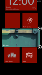 HTC Windows Phone 8X - Getting started - Personalising your Start screen - Step 6
