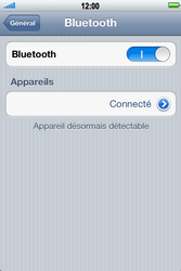 Apple iPhone 4 S - Bluetooth - connexion Bluetooth - Étape 10