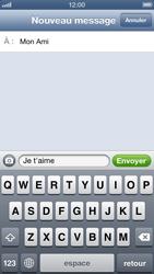 Apple iPhone 5 - MMS - envoi d'images - Étape 7