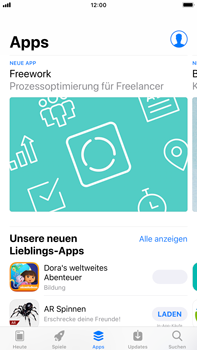 Apple iPhone 6 Plus - iOS 12 - Apps - Herunterladen - Schritt 6