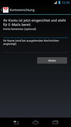 Motorola RAZR i - E-Mail - Konto einrichten - 1 / 1