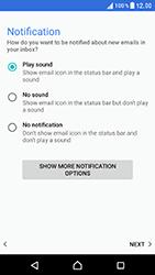Sony Xperia XZ (F8331) - E-mail - Manual configuration (outlook) - Step 14