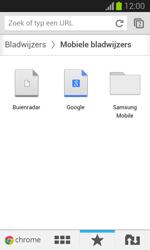 Samsung S7390 Galaxy Trend Lite - Internet - Internet gebruiken - Stap 17