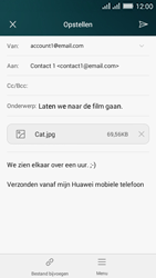 Huawei Y635 Dual SIM - E-mail - E-mails verzenden - Stap 15