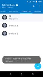 HTC One M9 - Android Nougat - Contactgegevens overzetten - delen via Bluetooth - Stap 11