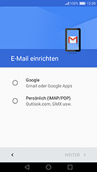 Huawei Honor 8 - E-Mail - Konto einrichten (gmail) - Schritt 7