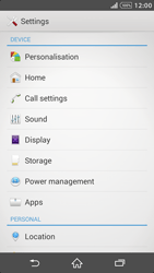 Sony Xperia Z2 - Applications - How to uninstall an app - Step 4