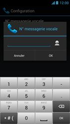 Acer Liquid Z5 - Messagerie vocale - configuration manuelle - Étape 9