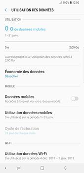 Samsung Galaxy Note9 - Internet et roaming de données - Comment vérifier que la connexion des données est activée - Étape 6
