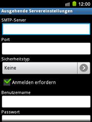 Samsung Galaxy Mini - E-Mail - Konto einrichten - 2 / 2