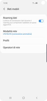 Samsung Galaxy S10e - Rete - Come attivare la connessione di rete 4G - Fase 8