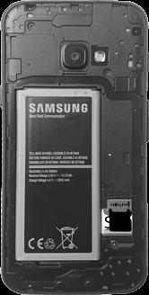 Samsung Galaxy Xcover 4 - SIM-Karte - Einlegen - 6 / 8