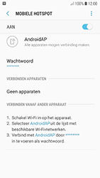 Samsung galaxy-a5-2017-android-oreo - WiFi - Mobiele hotspot instellen - Stap 12