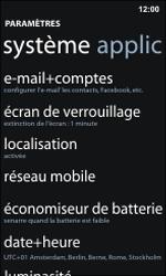 Nokia Lumia 800 / Lumia 900 - E-mail - Configuration manuelle - Étape 4