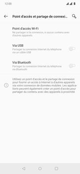 OnePlus 7 Pro - Internet et connexion - Utiliser le mode modem par USB - Étape 7