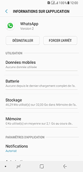 Samsung Galaxy A8 - Applications - Supprimer une application - Étape 6