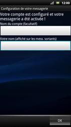 Sony Xperia Neo - E-mail - Configuration manuelle - Étape 10