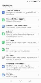 Huawei Y7 (2018) - Réseau - Sélection manuelle du réseau - Étape 3