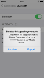Apple iPhone 5c - Bluetooth - Koppelen met ander apparaat - Stap 6