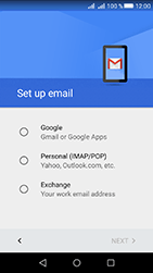 Huawei Y6 II Compact - E-mail - Manual configuration (gmail) - Step 7