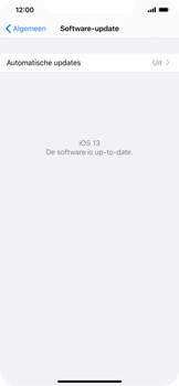 Apple iPhone XS Max - iOS 13 - Toestel - Software update - Stap 7